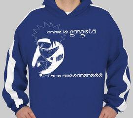 anime is gangsta - hoodie