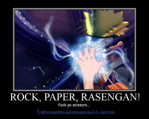 This weeks Naruto demotivational poster