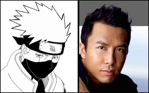 Donnie Yen live action Naruto movie