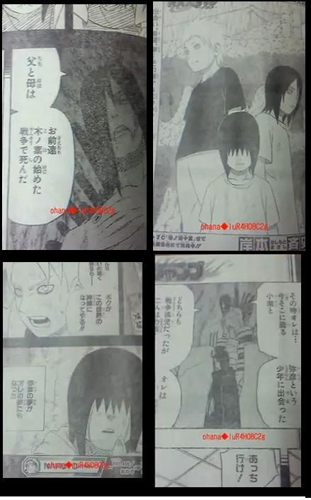 Naruto Manga 445 spoiler pics raw